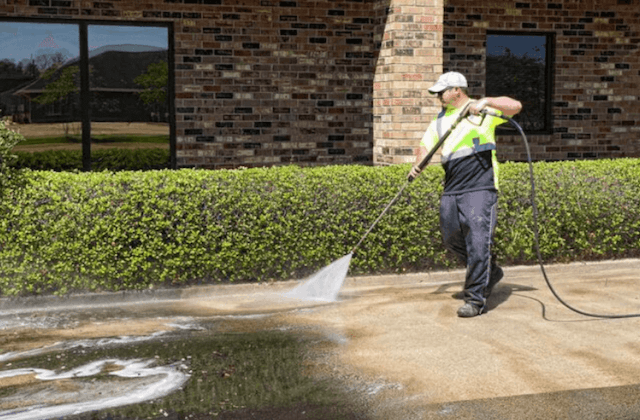 commercial concrete cleaning in fremont